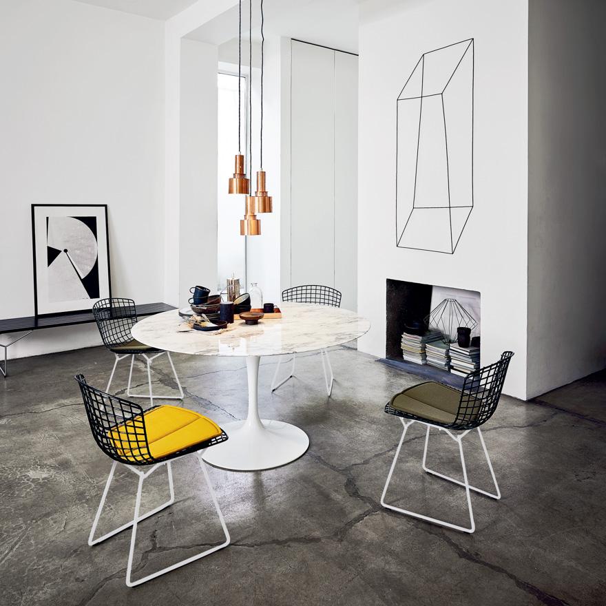 Il tavolo Saarinen Knoll in marmo un'icona che resiste allo scorrere del tempo